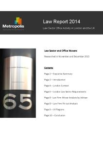 Metropolis Law Report 2014